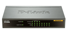D-Link DES-1008PA 8-port 10/100 Desktop Switch