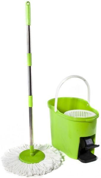 BRILANZ Tornado Mop set - zelená
