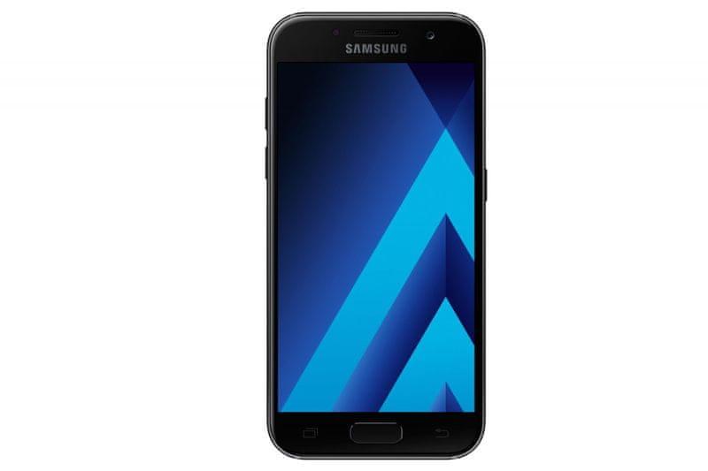 Samsung Galaxy A3 (2017), A320F, Black sky - II. jakost