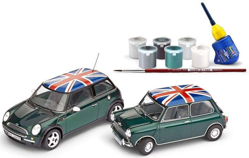 Revell Cooper GiftSet 05795 Mini Set (1:24)
