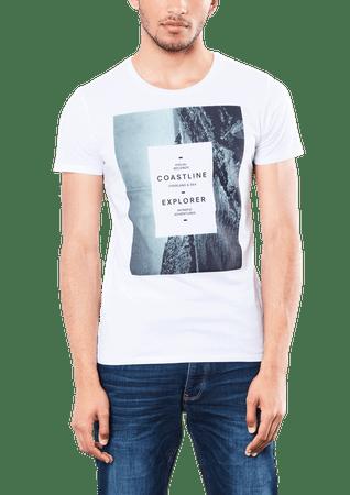 s.Oliver pánské tričko XXL biela