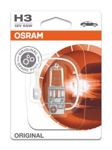 Osram 12V H3 55W PK22s 1ks Blister