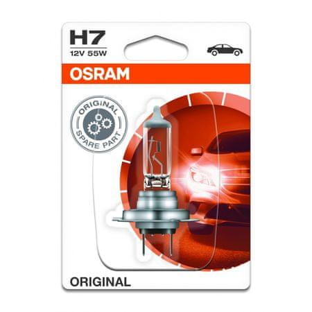 Osram žarnica 12V H7 55W Blister