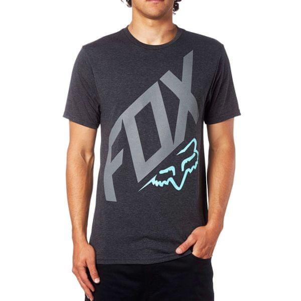 FOX pánské tričko Closed Circuit L černá