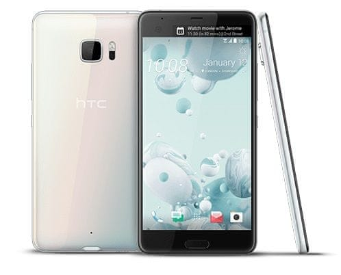 HTC U Ultra, 64 GB, bílý