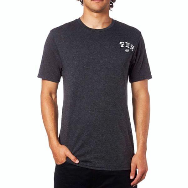 FOX pánské tričko Exiler Ss Tech XL černá