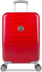 SuitSuit Red Diamond Crocodile Bőrönd, S