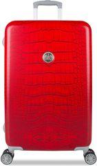 SuitSuit Red Diamond Crocodile Bőrönd, M