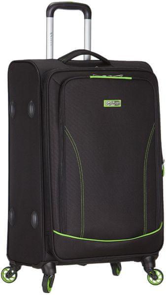 AZURE Spirit cestovní kufr M zelená
