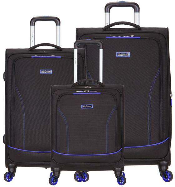 AZURE Spirit sada kufrů modrá