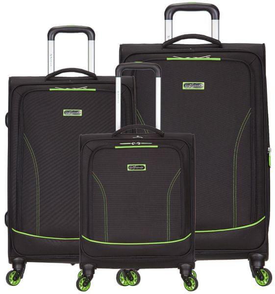 AZURE Spirit sada kufrů zelená