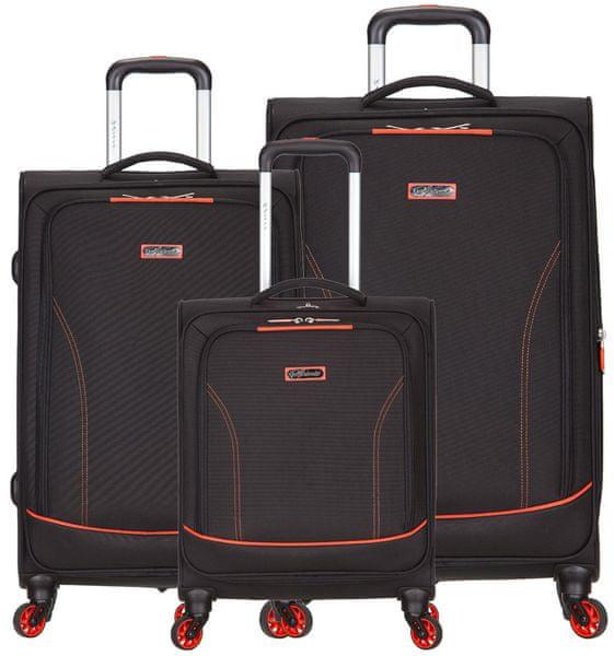 AZURE Spirit sada kufrů oranžová