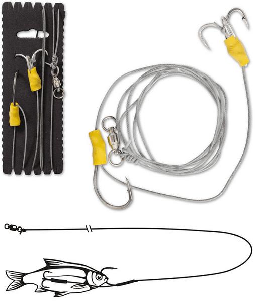 Black Cat Návazec Bojen Und Boat-Rig 140 cm 100 kg 2/0