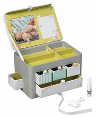 BabyArt Úložný box My Little Treasures Grey