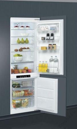 Whirlpool ART 890/A++/NF Beépíthető kombinált hűtőszekrény