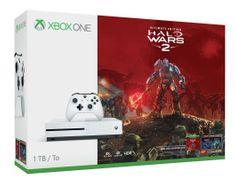 Microsoft igralna konzola Xbox One S 1TB + igra Halo Wars 2