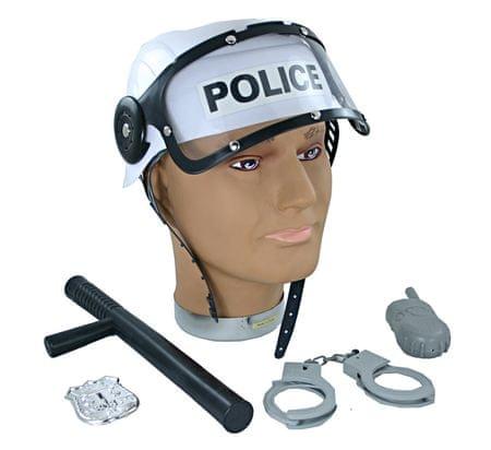 Rappa Policajná prilba s príslušenstvom - Diskusia  d7487d685ae