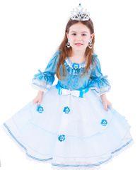 Rappa Kostium Księżniczki Niebieski