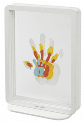 BabyArt ramka Superposed Handprints White
