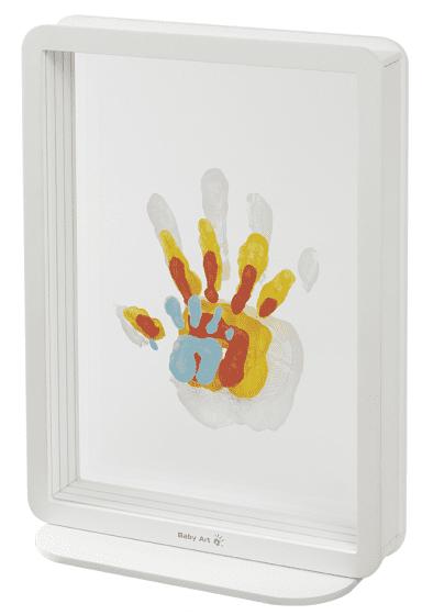 BabyArt Rámeček Superposed Handprints White