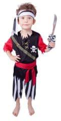 Rappa Kostium pirata z chustą