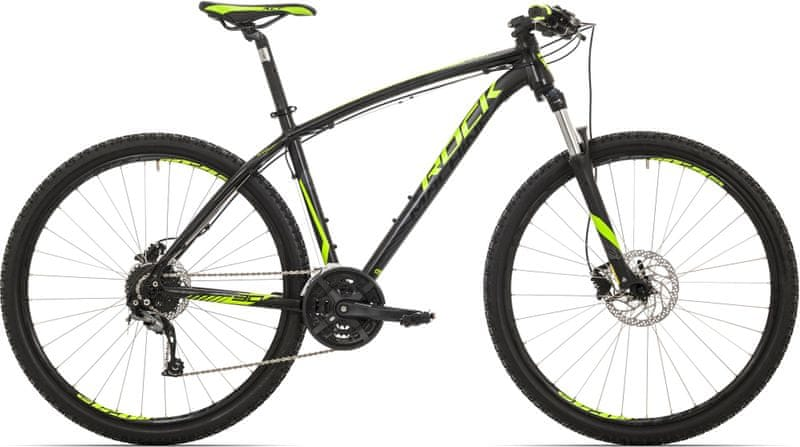 Rock Machine 29er Heatwave 90 black/radioactive yellow/silver 2017 19""