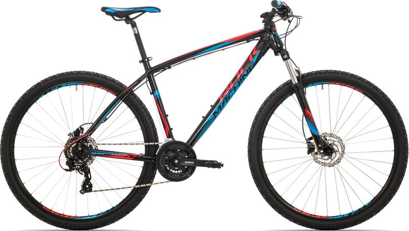 Rock Machine 29er Manhattan 70 black/red/blue 2017 21,5""