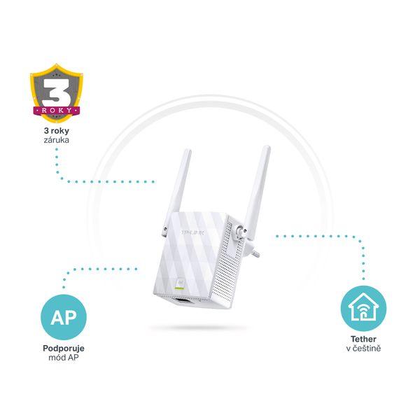 TP-Link TL-WA855RE 300 Mbit/s Univerzální opakovač wifi signálu