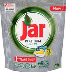 Jar Platinum Mosogatógép kapszula, 72 db, Sárga