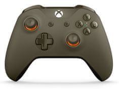 Microsoft Xbox One S Gamepad vojenská zelená