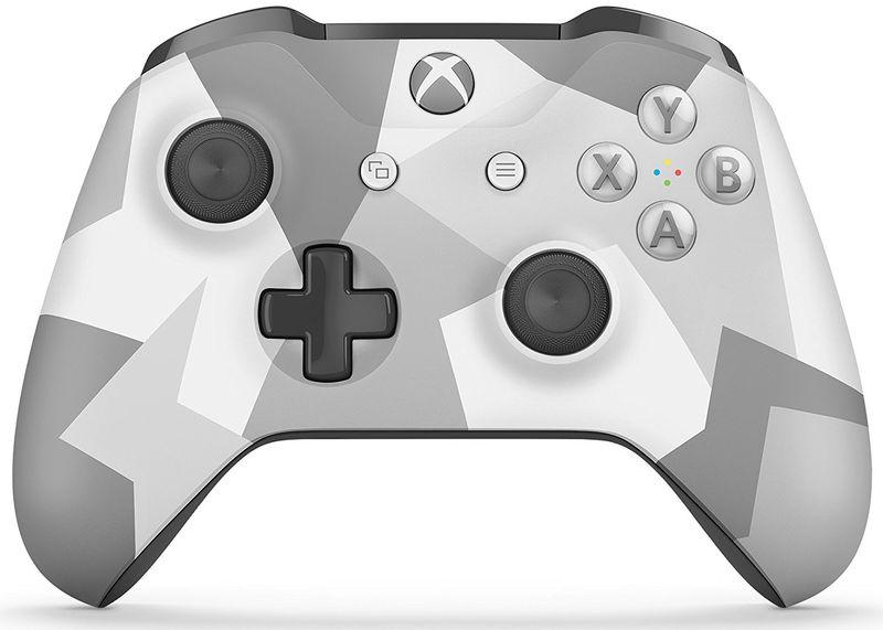 Microsoft Xbox One S Gamepad šedý/bílý