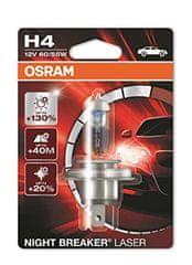 Osram żarówka samochodowa 12V H4 60/55W P14.5s 1ks Night Break Unlimited Laser Blister