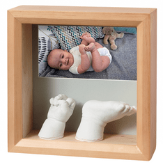 BabyArt Rámeček Photo Sculpture Frame Honey