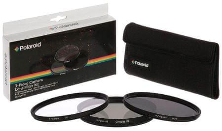POLAROID Sada 3 filtrů 40,5 mm (UV MC, CPL, ND9)