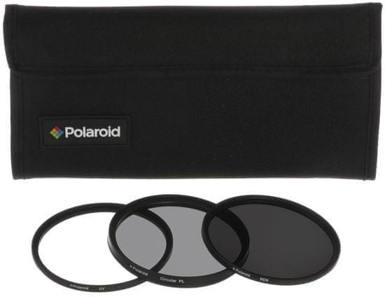 POLAROID 52mm Szűrő szett (UV MC, CPL, ND9)