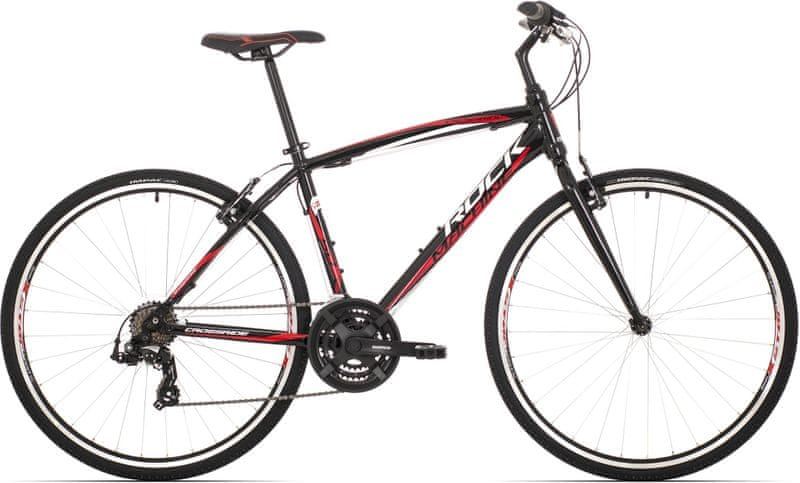 Rock Machine Crossride 50 black/white/red 2017 16,5""