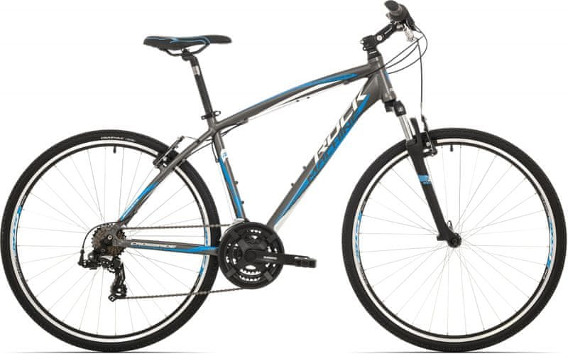 Rock Machine Crossride 75 anthracite/white/blue 2017 18""