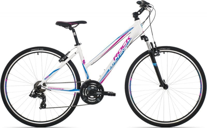 Rock Machine Crossride 75 lady white/pink/blue 2017 17""