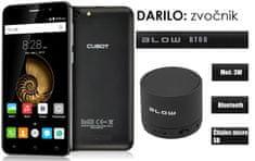 Cubot GSM telefon Note S, dual sim, črn + darilo: BT zvočnik Blow