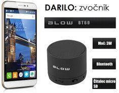 Cubot GSM telefon Note S, dual sim, bel + darilo: BT zvočnik Blow