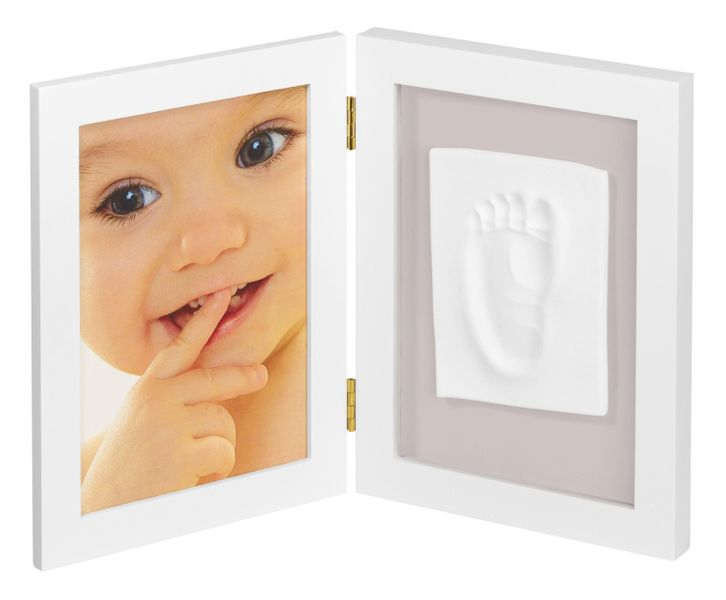 BabyArt Rámeček Photo Frame Baby Print White