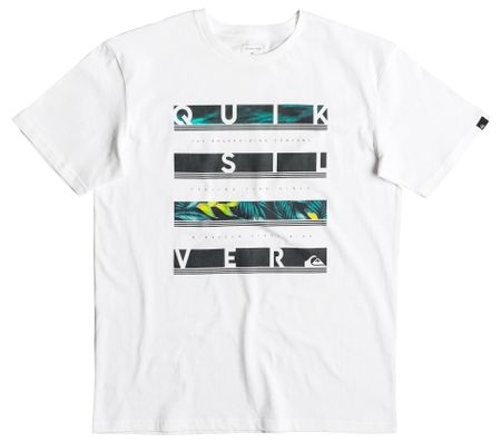 Quiksilver Readbetween M Tees White S