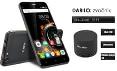 Cubot mobilni telefon Dinosaur DualSim, crni + poklon: BT zvučnik Blow