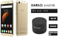 Cubot mobilni telefon Dinosaur DualSim, zlatni + poklon: BT zvučnik Blow