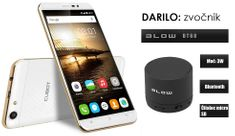 Cubot mobilni telefon Dinosaur DualSim, bijel + poklon: BT zvučnik Blow