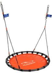 Hudora viseča gugalnica gnezdo ALU 120, oranžna