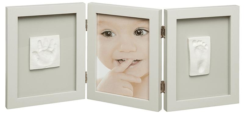 BabyArt Rámeček Photo Frame 2 Baby Prints, Taupe