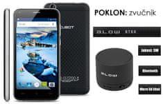 Cubot telefon Manito LTE, crna +  poklon: BT zvučnik Blow