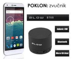 Cubot telefon Manito LTE, bijela + poklon: BT zvučnik Blow