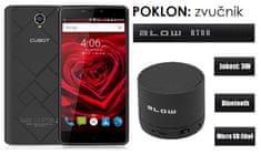Cubot telefon MAX LTE DualSim crni + poklon: BT zvučnik Blow